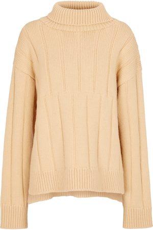 Jil Sander Women Turtlenecks - Wool-blend turtleneck sweater