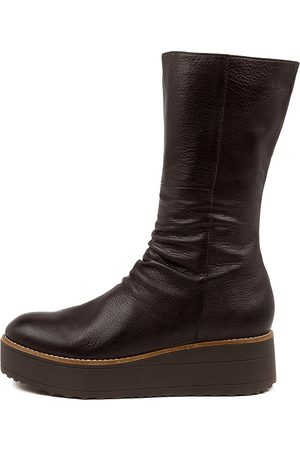 Top end Women Ankle Boots - Nani To Choc Choc Sole Boots Womens Shoes Casual Ankle Boots
