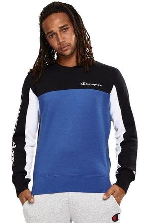 Champion Colour Block Crew Mens Sweatshirt