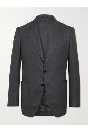 Tom Ford O'Connor Slim-Fit Unstructured Wool-Mesh Blazer