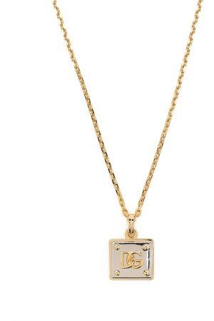Dolce & Gabbana Men Necklaces - DG logo necklace