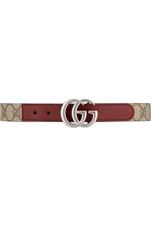 Gucci GG logo-plaque belt