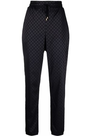 Wolford Jyn checked track pants