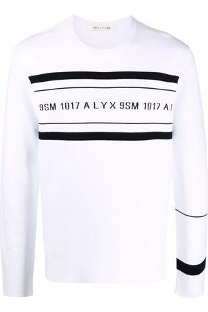 1017 ALYX 9SM Logo-print crew neck sweatshirt