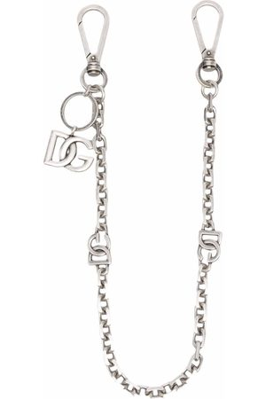 Dolce & Gabbana Men Ties - DG logo charm clip-on chain