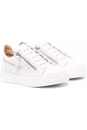 Giuseppe Zanotti Boys Sneakers - Zip-up flatform sneakers
