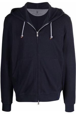 Brunello Cucinelli Drawstring hooded sweatshirt