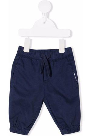 Stella McCartney Baby Chinos - Drawstring cotton trousers