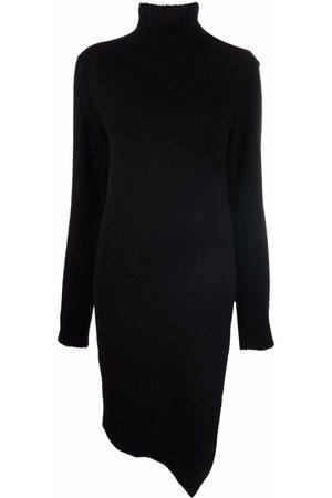 Jil Sander Asymmetric knitted dress