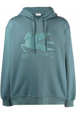 Etro Embroidered-logo hoodie