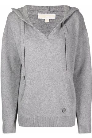 Michael Kors Women Sweaters - Knitted pullover hoodie