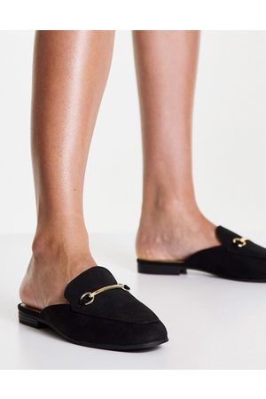 Accessorize Backless loafers in black