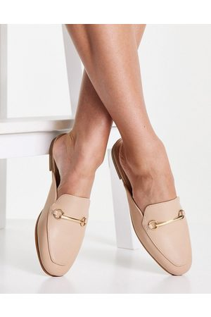 Accessorize Backless loafers in beige-Neutral