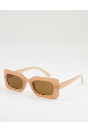 Jeepers Peepers Women's square sunglasses in pink