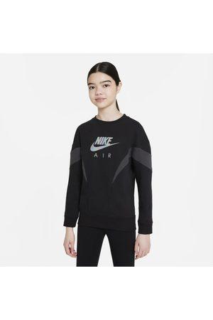Nike Girls Sweatshirts - Air Older Kids' (Girls') French Terry Sweatshirt