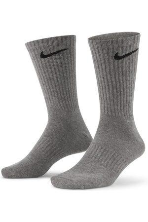 Nike Sports Underwear - Everyday Lightweight Training Crew Socks (3 Pairs) - Multi-Colour