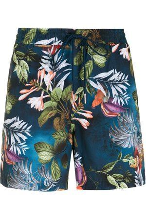 Lygia & Nanny Gil print shorts