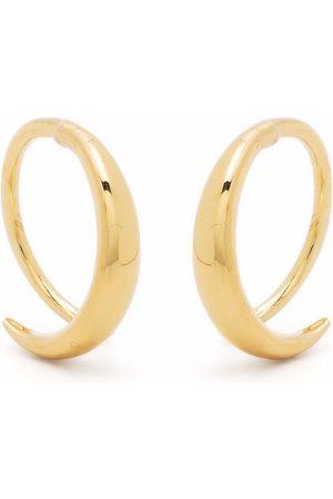 TOM WOOD Mini ear loop earrings