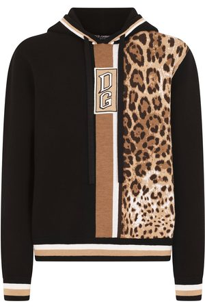 Dolce & Gabbana Leopard-print wool hoodie