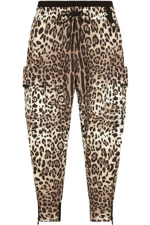 Dolce & Gabbana Leopard-print tapered trousers