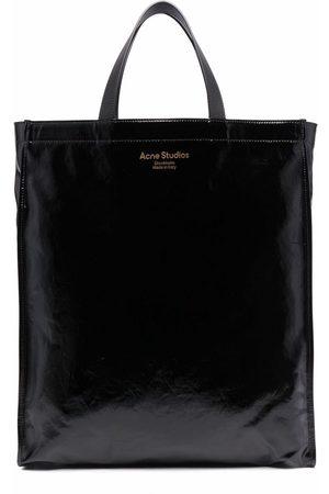 Acne Studios High-shine tote bag