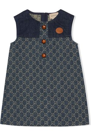 Gucci GG jacquard denim dress