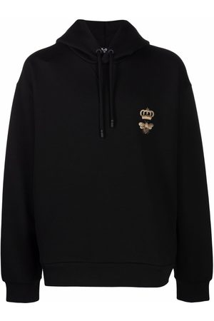 Dolce & Gabbana Bee and crown hoodie