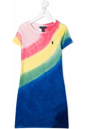 Ralph Lauren Girls Printed Dresses - Rainbow-print T-shirt dress