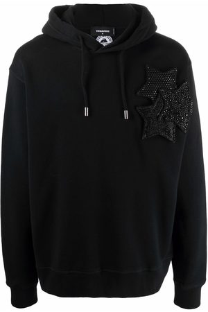 Dsquared2 Star-patch hoodie