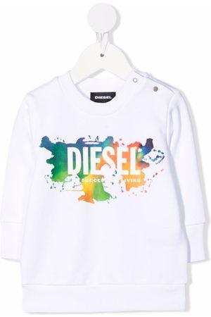 Diesel Logo-print longsleeved T-shirt