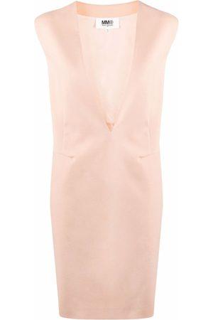 MM6 MAISON MARGIELA V-neck sleeveless dress