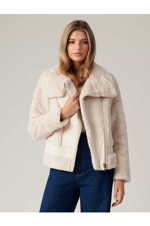 Forever New Dule Shearling Jacket