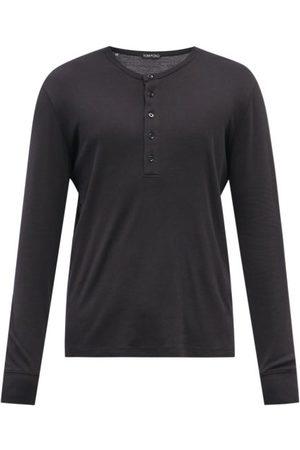 Maison Kitsuné Men T-shirts - Fox-pocket Cotton-jersey T-shirt - Mens