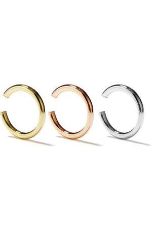 YVONNE LÉON Set Of Three Trinity 9kt Ear Cuffs - Womens - Multi