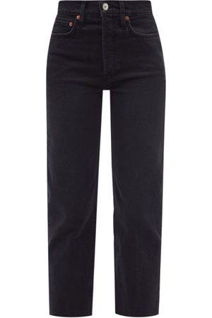 RE/DONE Women Boyfriend - 70s High-rise Straight-leg Jeans - Womens