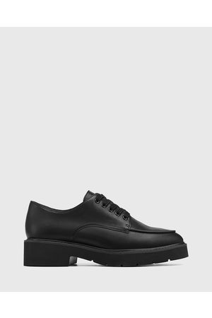 Wittner Casie Leather Lace Up Brogues - Flats Casie Leather Lace Up Brogues