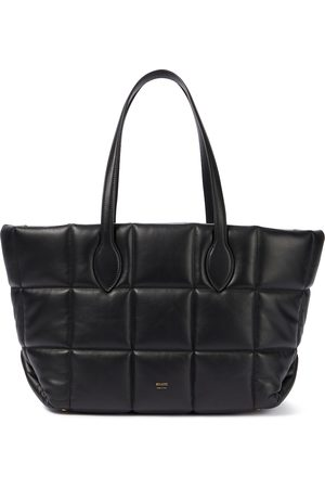 Khaite Florence quilted leather tote