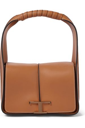 Tod's Timeless T leather tote