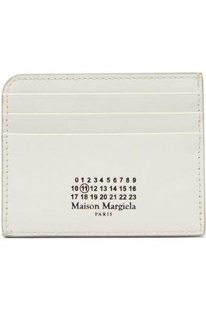 Maison Margiela Four Stitches Logo-print Leather Cardholder - Womens