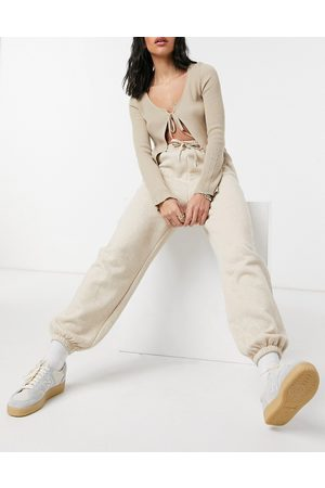 Other Stories & organic cotton blend co-ord trackies in -Neutral