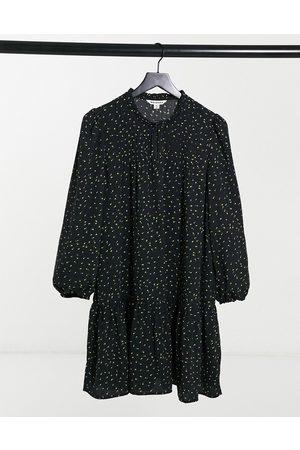 Whistles Bright bud print smock dress in multi