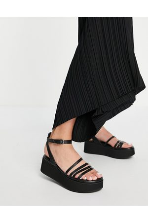 Whistles Cale strappy flatforms in
