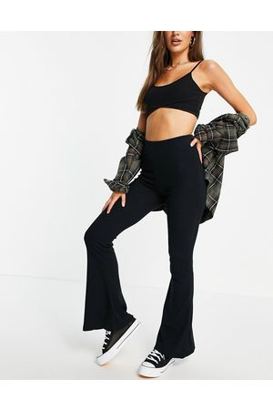 Pull&Bear Stretch bell bottom pants in