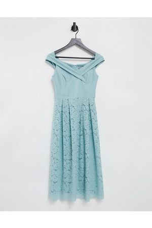 Oasis Women Maxi Dresses - Bridesmaids bardot dress in