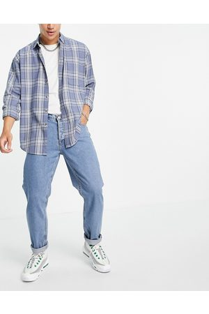 Topman Relaxed jeans in midwash