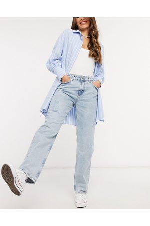 Pull&Bear Boyfriend fit jeans in light