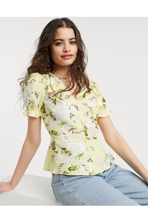 warehouse Bonnie rose top in