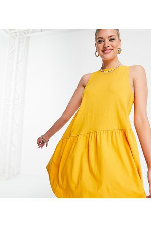 ASOS Tall sleeveless smock dress with v-back in