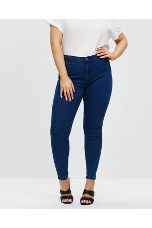 Missguided Anarchy Mid Rise Skinny Jeans - Jeans Anarchy Mid Rise Skinny Jeans
