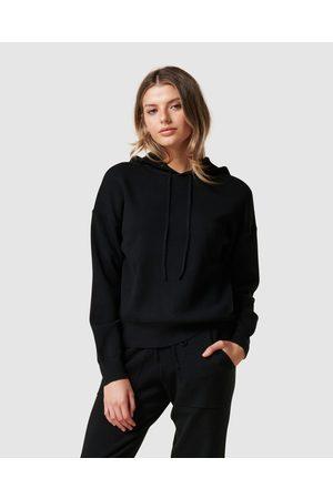 Forever New Georgia Loungewear Hood Knit Jumper - Hoodies Georgia Loungewear Hood Knit Jumper